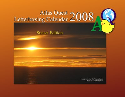 Cover Photo: Sunset Calendar