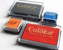 Ink It and Color It Pigment Ink Pads