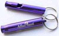 Purple Safety Whistle