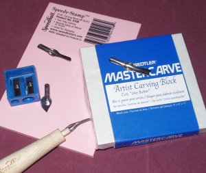 Common Tools Used For Carving Stamps